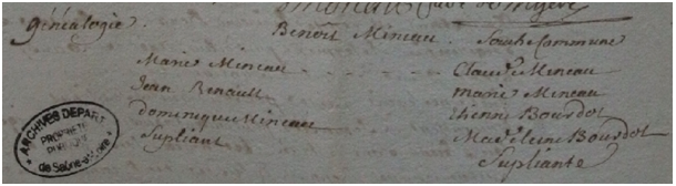 dispense Mineau-Bourdot