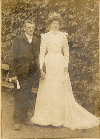 Mariage de Etienne BROT et Marie PERRIER - collection personnelle