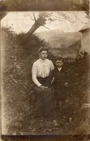 Marie PERRIER et Joseph BROT - collection personnelle