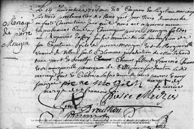 1728-11-14 mariage Mougin-Chenut