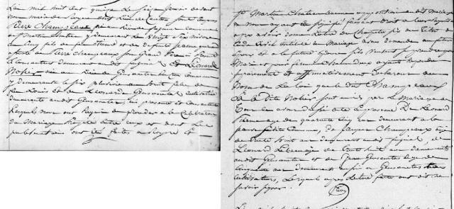 1815-01-16 mariage champeaux-nolier