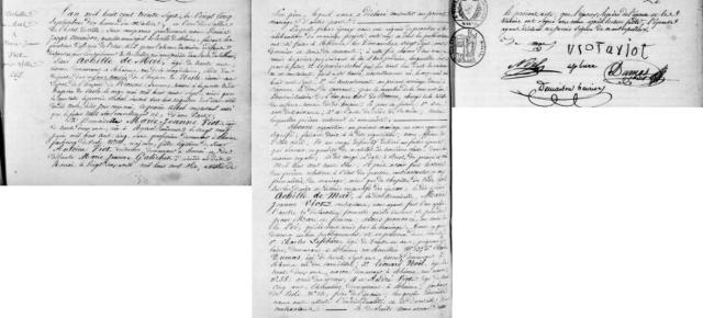 1837-09-25 mariage de Mai-Viot
