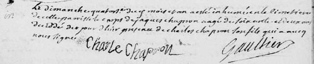 1720-01-14 décès Chapron Jacques