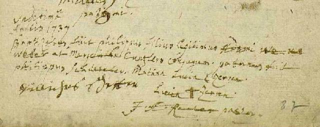 1737-04-11 naissance Weber Philippe