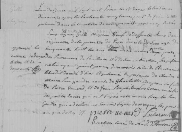 1762-06-20 décès Chapron Gille