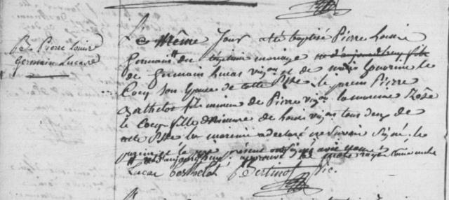 1790-01-11 naissance Lucas Pierre Louis Germain