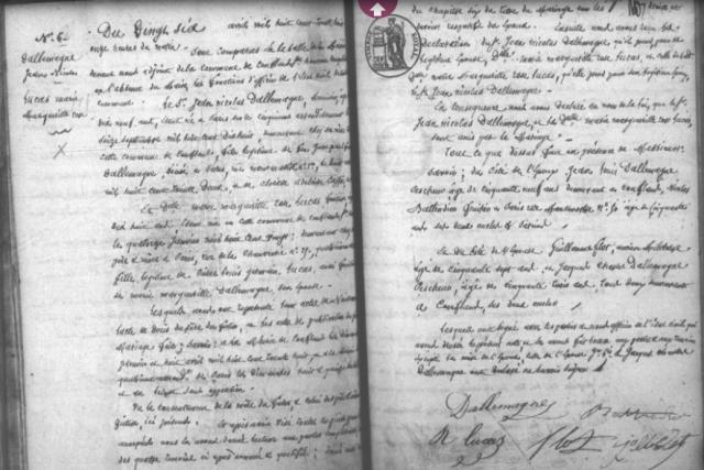1838-04-26 mariage Dallemagne-Lucas