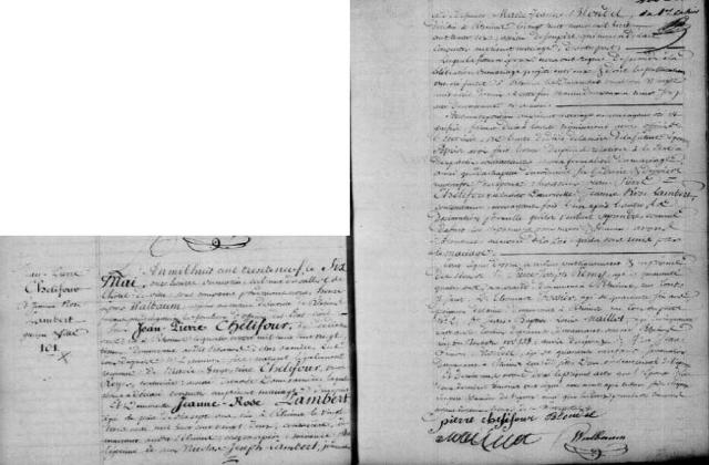 1839-05-06 mariage Chelifour-Lambert