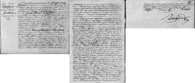 1861-02-25 mariage Chelifour-Humbert