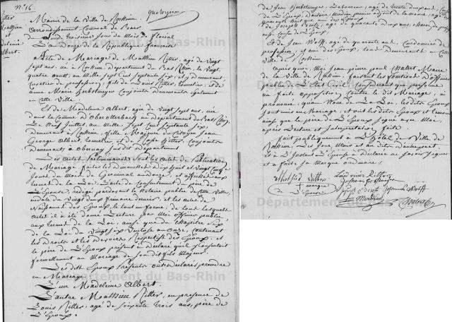 1804-04-23 mariage Ritter-Albert