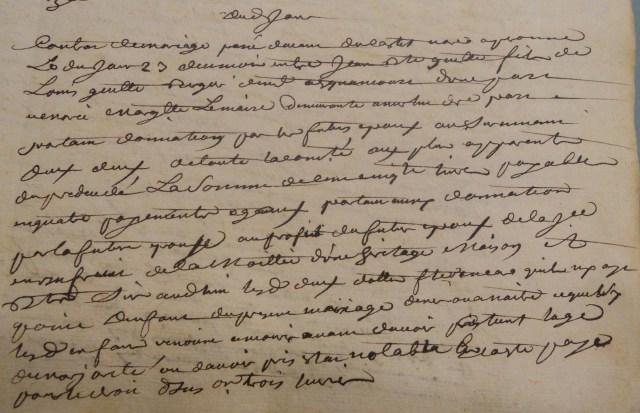 1745-03-23 extrait CdM Guette-Lemaire