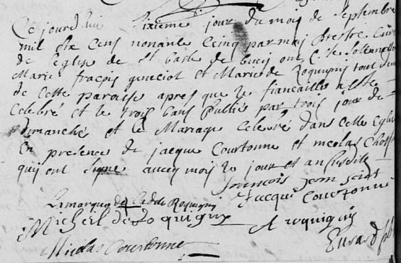 1695-09-06 mariage Sciot-Roquigny