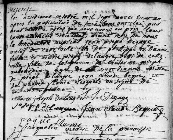 1731-10-02 mariage Degage-Delangre