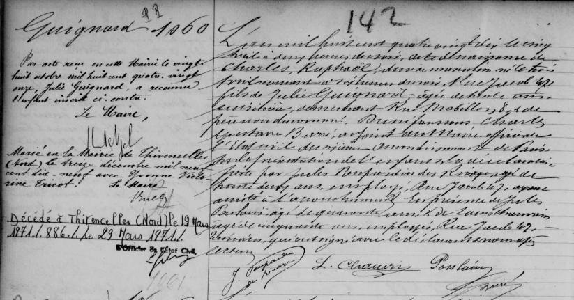 1890-04-03 naissance Guignard Charles 6e