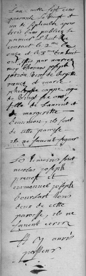 1740-09-21 mariage Jorion-Cappe