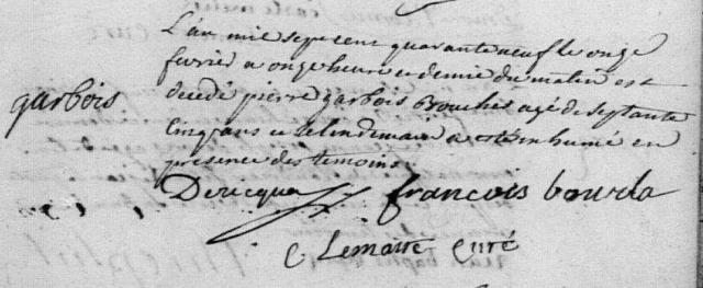 1749-02-11 décès Garbois Pierre