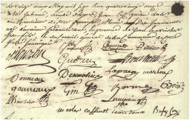 Conseil 1791-05-21 décès Coffineau Jean