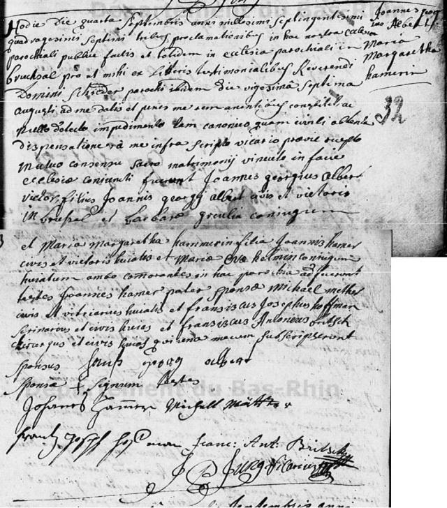 1747-09-04 mariage Albert-Hamer