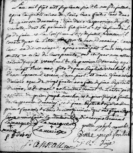1776-07-09 mariage Wacheul-Dubois