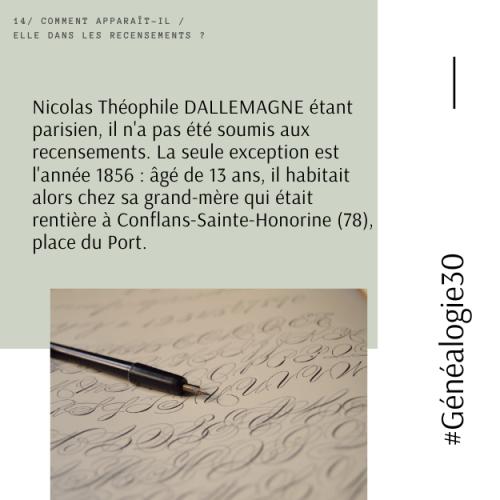 #Généalogie30(16)