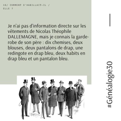 #Généalogie30(18)