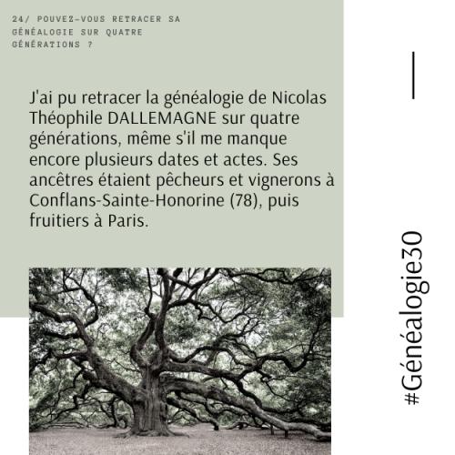 #Généalogie30(26)