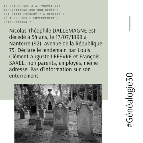 #Généalogie30(4)